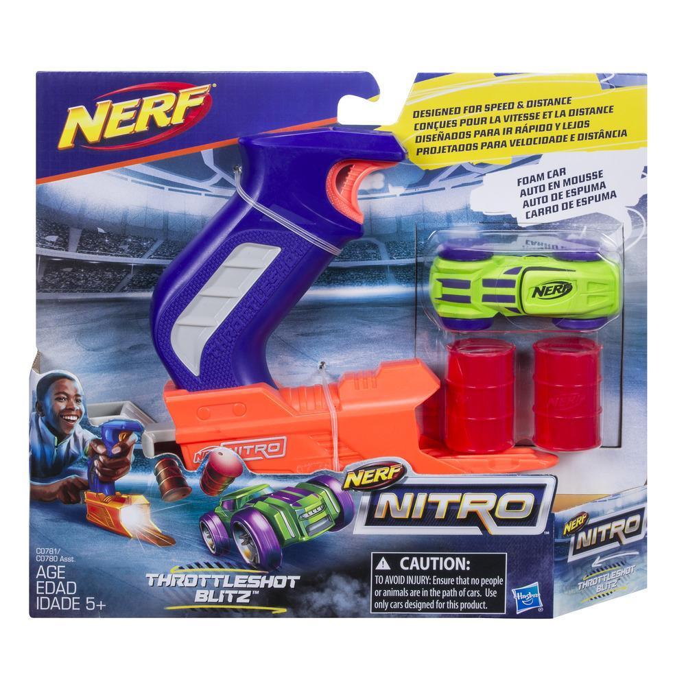 Nerf Nitro ThrottleShot Blitz (azul)
