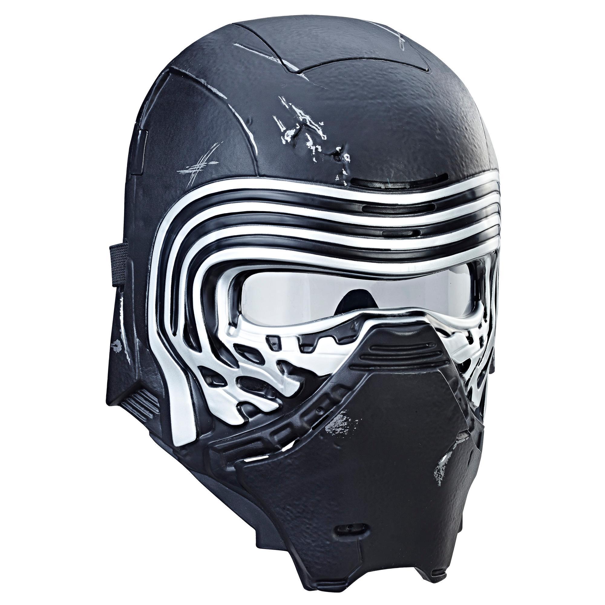 Star Wars: Os Últimos Jedi - máscara eletrônica de Kylo Ren