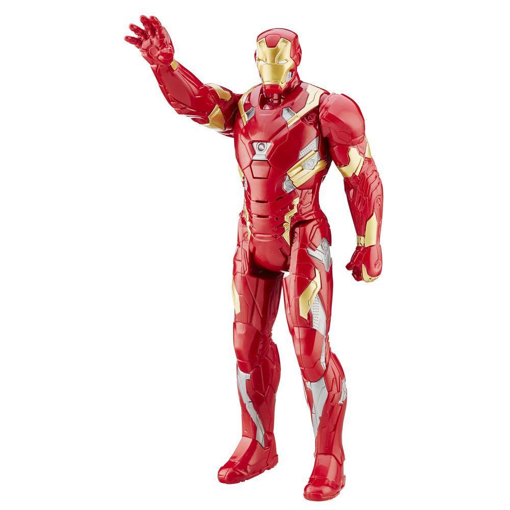 Marvel Titan Hero Series - Figura Eletrônica Iron Man