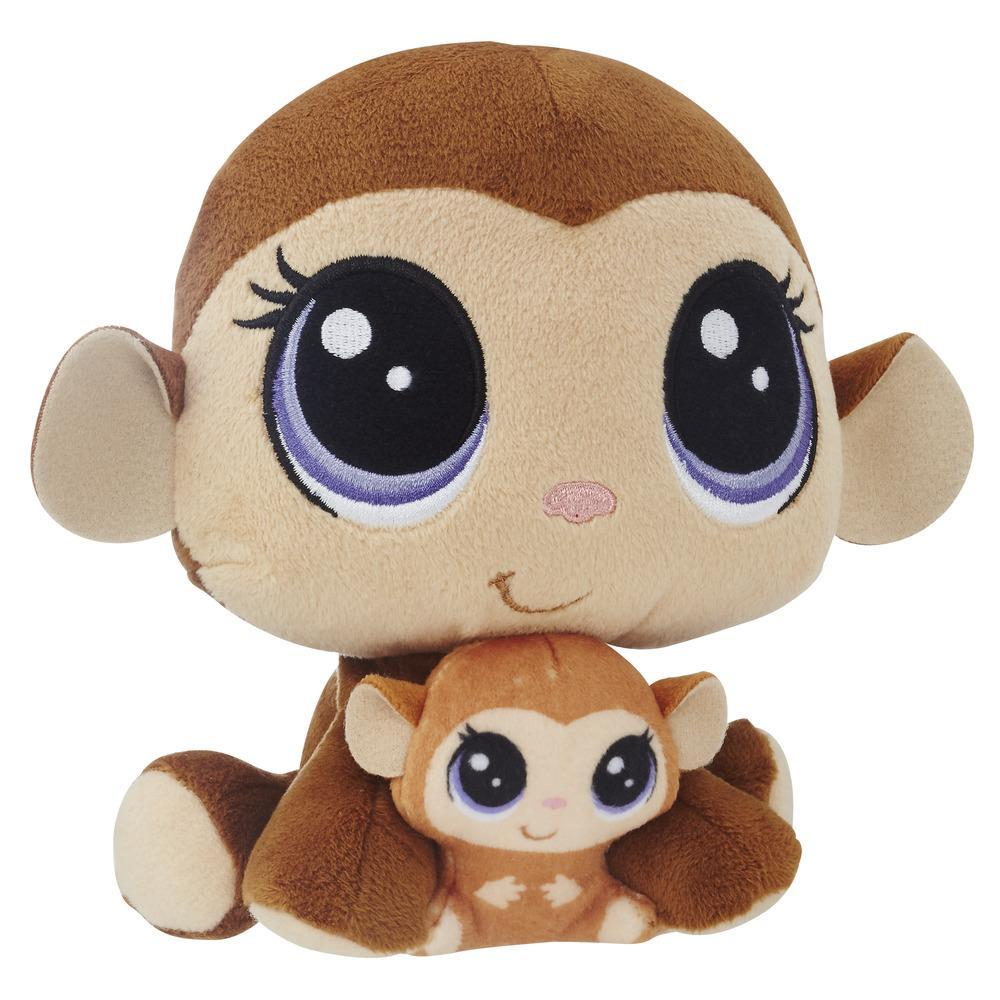 Littlest Pet Shop Mona Junglevine and Merry Junglevine - Fofura em Dobro