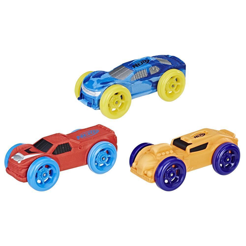 3 Carros de Espuma Nerf Nitro (Kit 2)