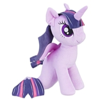 My Little Pony: O Filme - princesa Twilight Sparkle pônei-marinho pelúcia macia