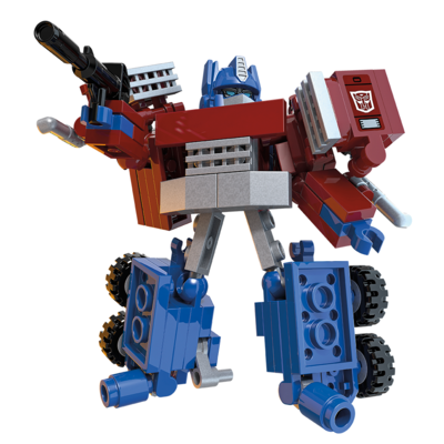 Brinq Const KRE-O Transformers Conversivel Delux