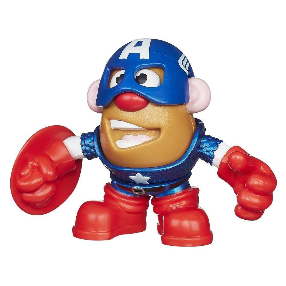 Playskool Mr. Potato Head Marvel Mixable Mashable Heroes - Captain America