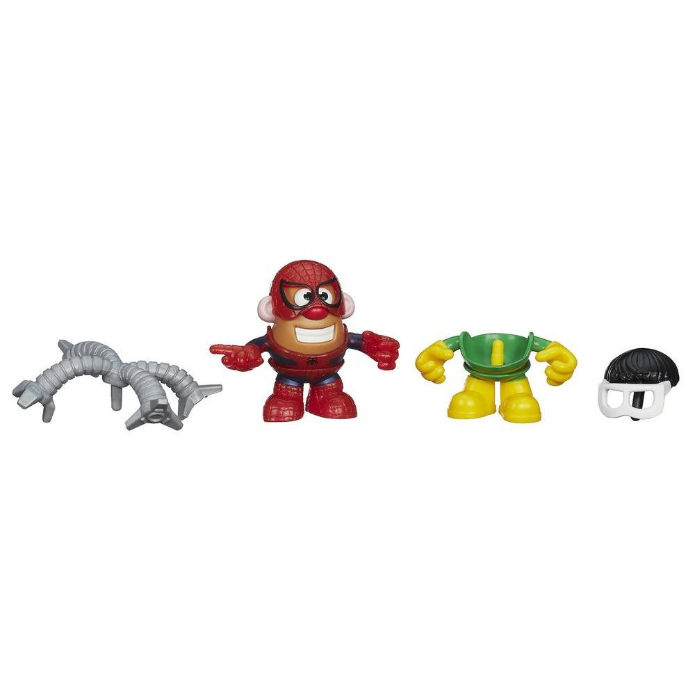 Playskool Mr. Potato Head Marvel Mixable Mashable Heroes - Spider-Man e Doc Ock