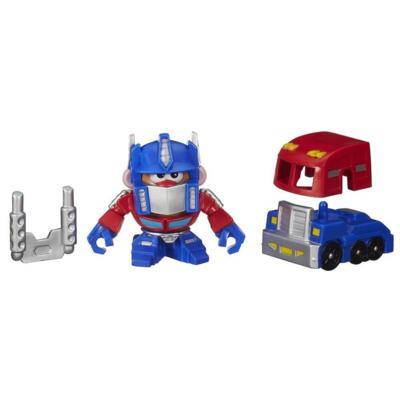 Playskool Mr. Potato Head Transformers Mixable, Mashable Heroes - Optimus Prime robô e caminhão