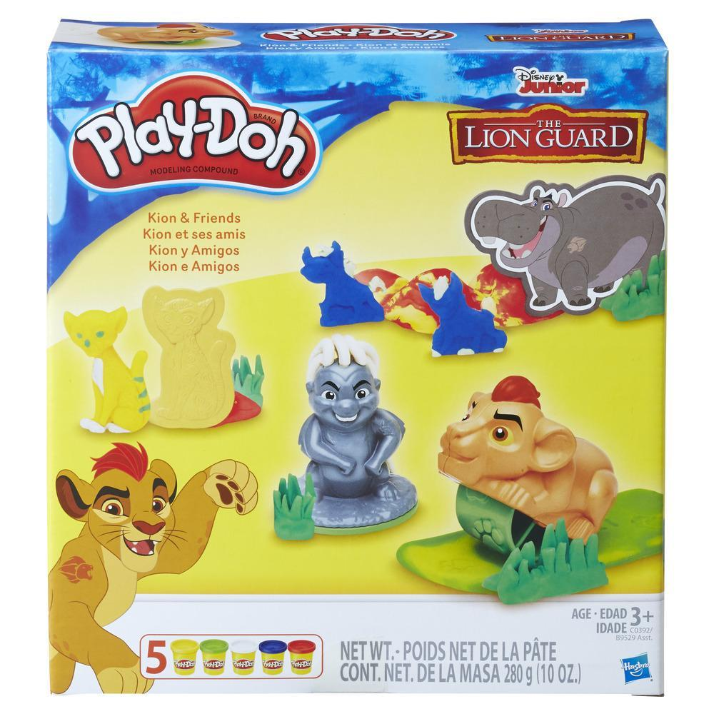 Play-Doh Disney A Guarda do Leão - Kion e Amigos