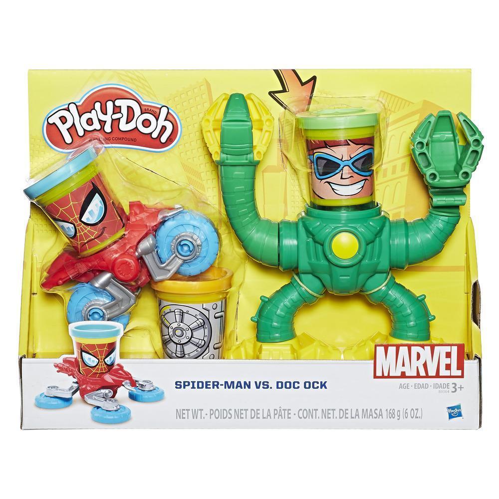 Conjunto Play-Doh Spider-Man Vs. Doc Ock