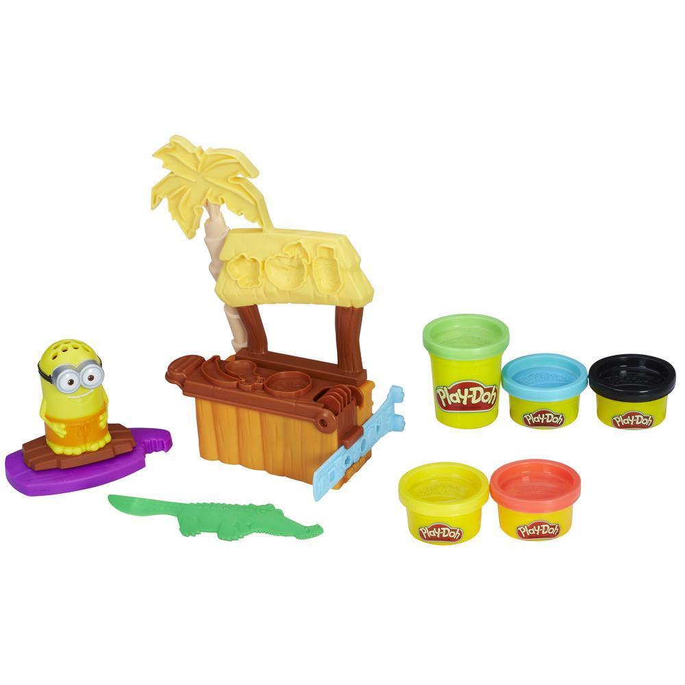 Conjunto Play-Doh Paraíso dos Minions