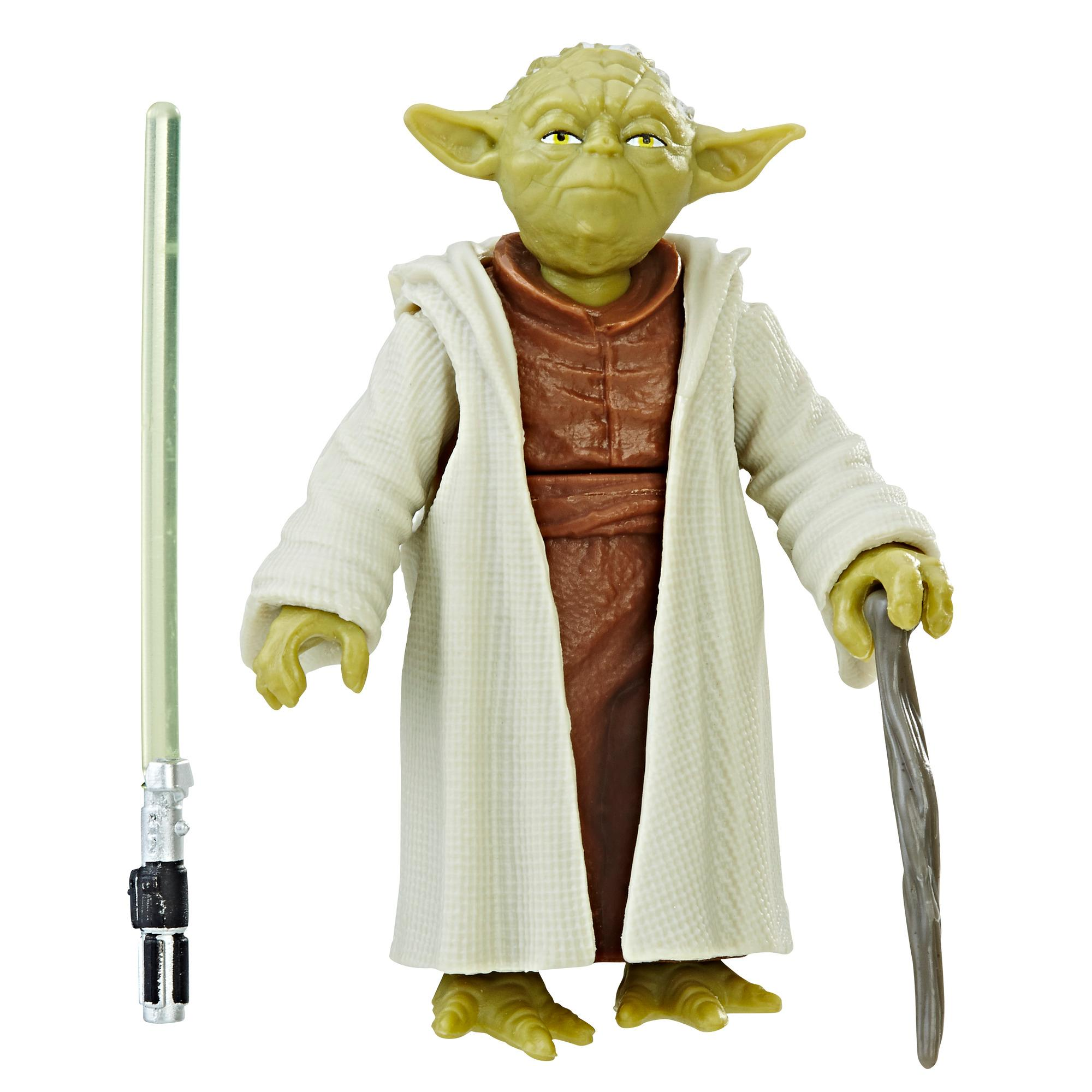 Star Wars - Figura Yoda com Force Link