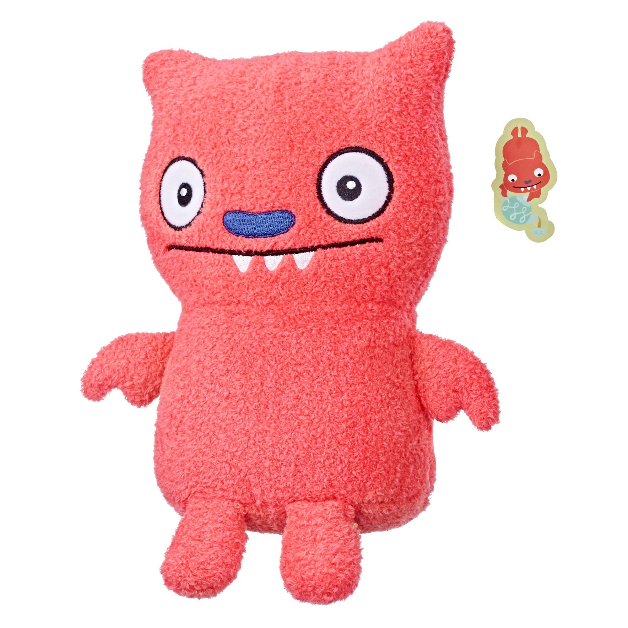 UglyDolls Respeitosamente, Lucky Bat   - Brinquedo de Pelúcia de 24 cm