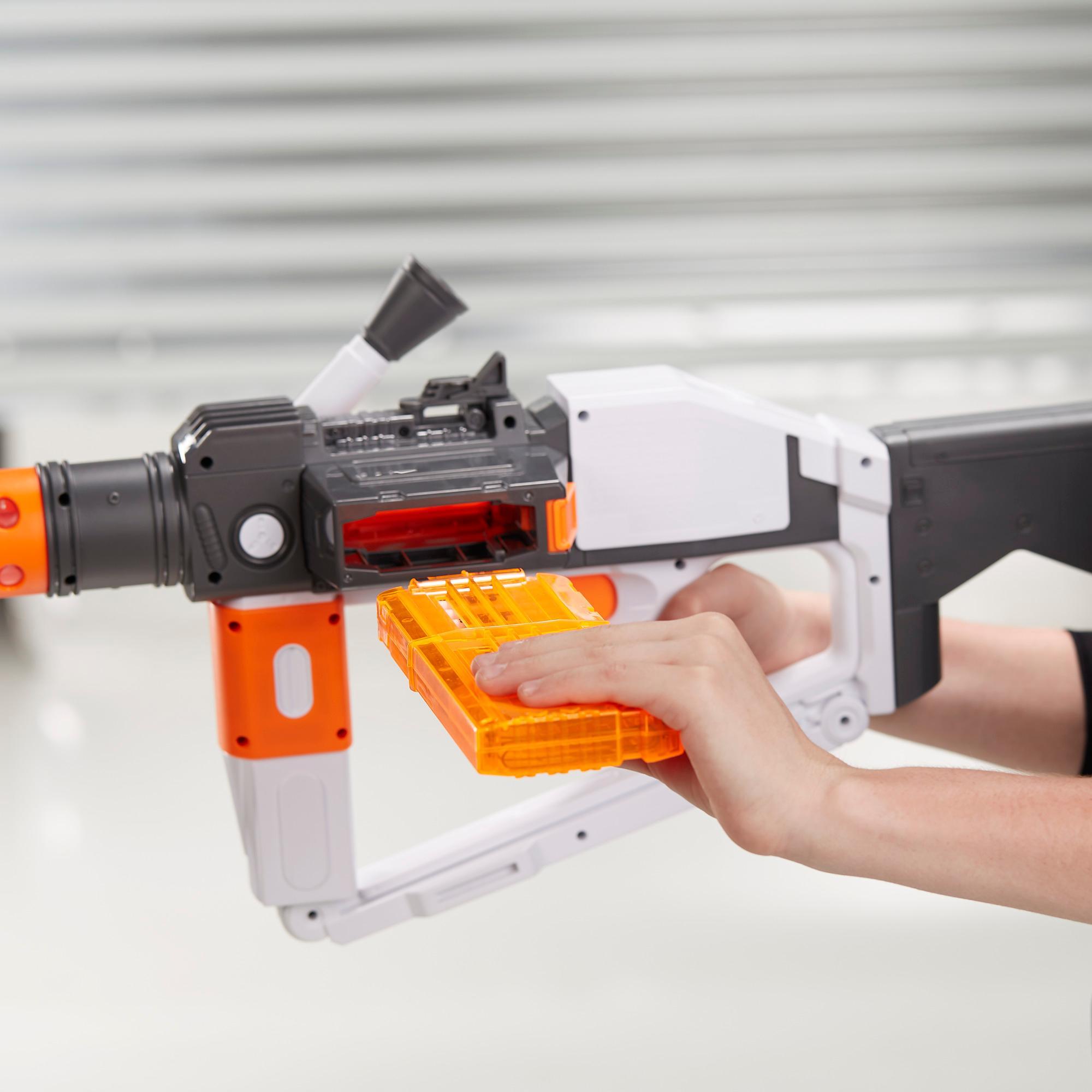 Star Wars Nerf - Lançador Deluxe de Stormtrooper da Primeira Ordem