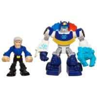 BRINQ BONECO C/ ROBO Transformers RESCUE BOT SORT
