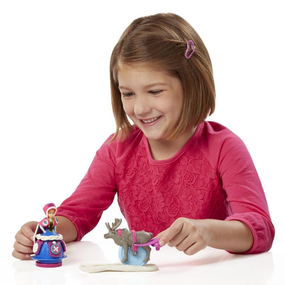Conjunto Play-Doh Trenó Frozen