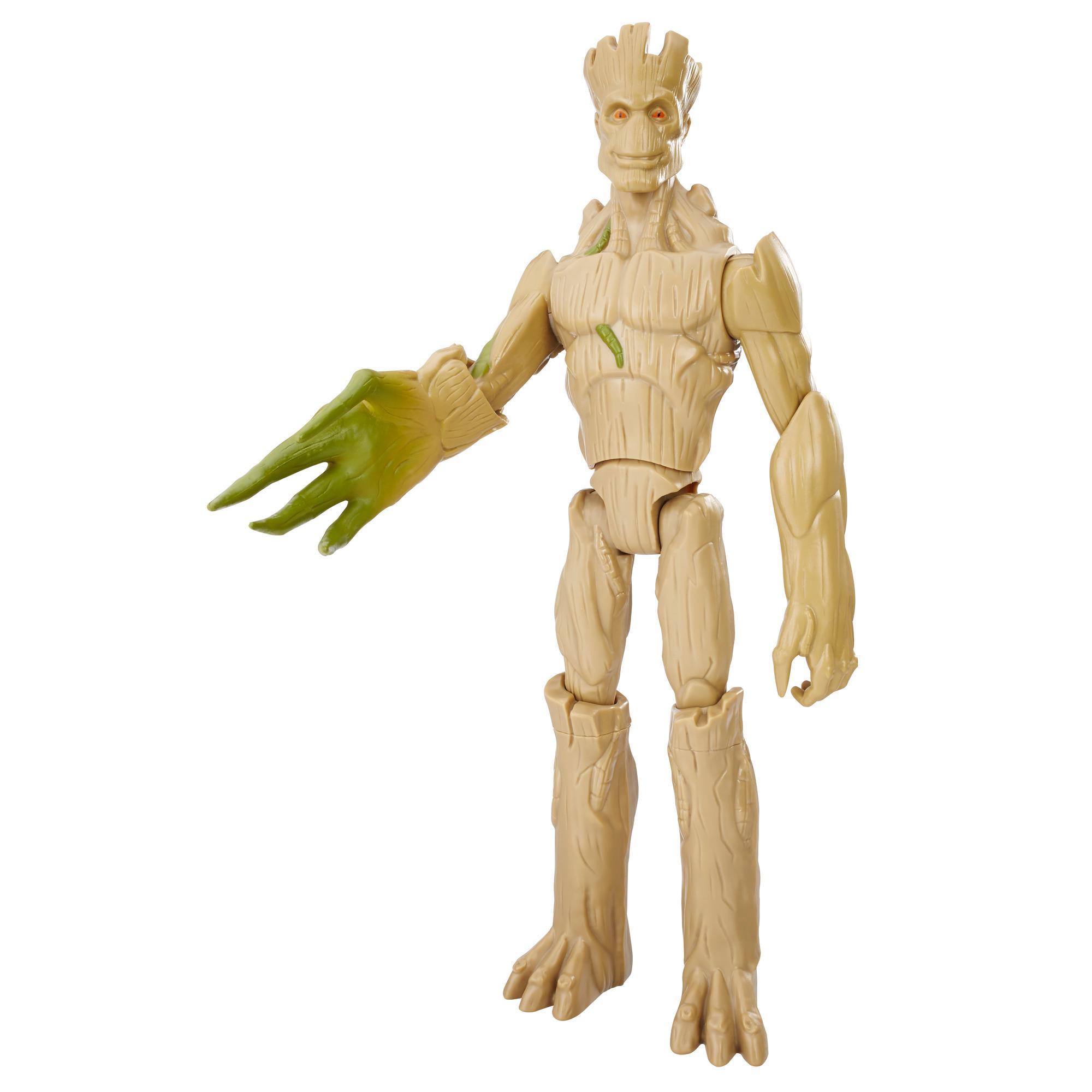 Figura Guardiões Da Galáxia Groot Crescendo