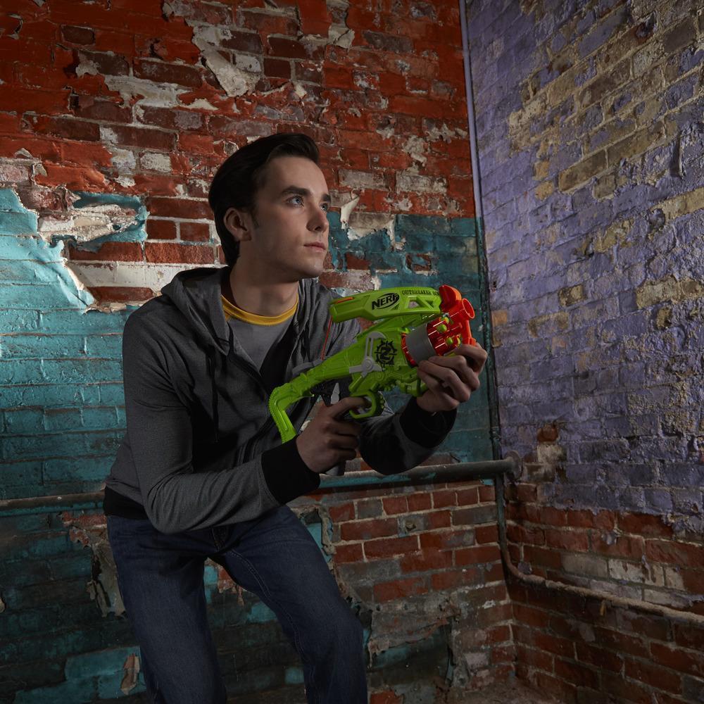 Lança Dardoss Nerf Zombie Outbreaker Bow