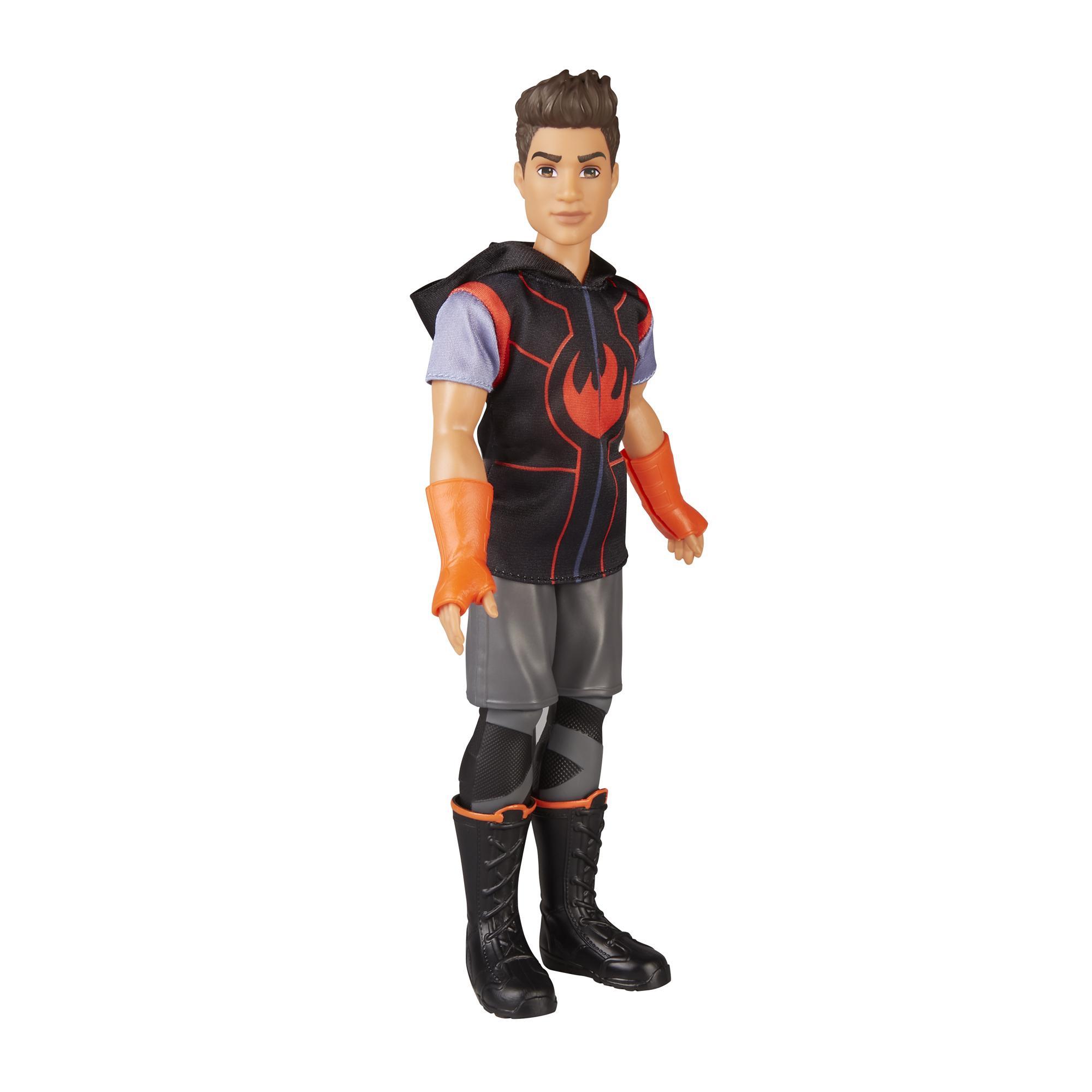 Marvel Rising Guerreiros Secretos - Boneco Dante Pertuz (Inferno da Marvel) com traje de treino