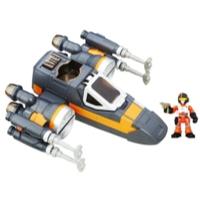 Star Wars Galactic Heroes - Caça Estelar X-wing de Poe Dameron