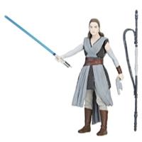 Figura Force Link Star Wars Rey (Treinamento Jedi)