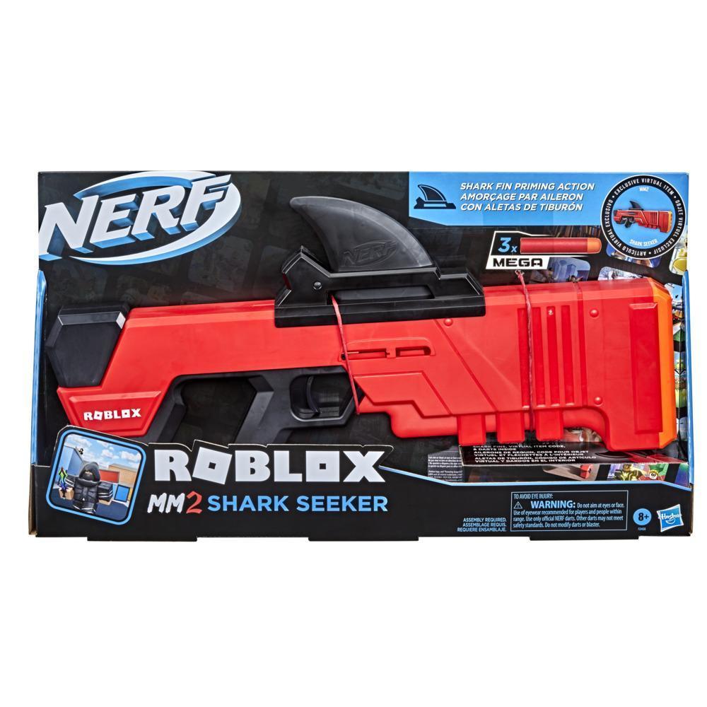Nerf Roblox MM2: Shark Seeker Lançador