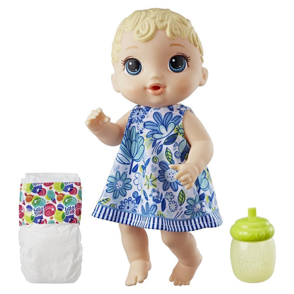 Bebê loira Hora do Chá Baby Alive