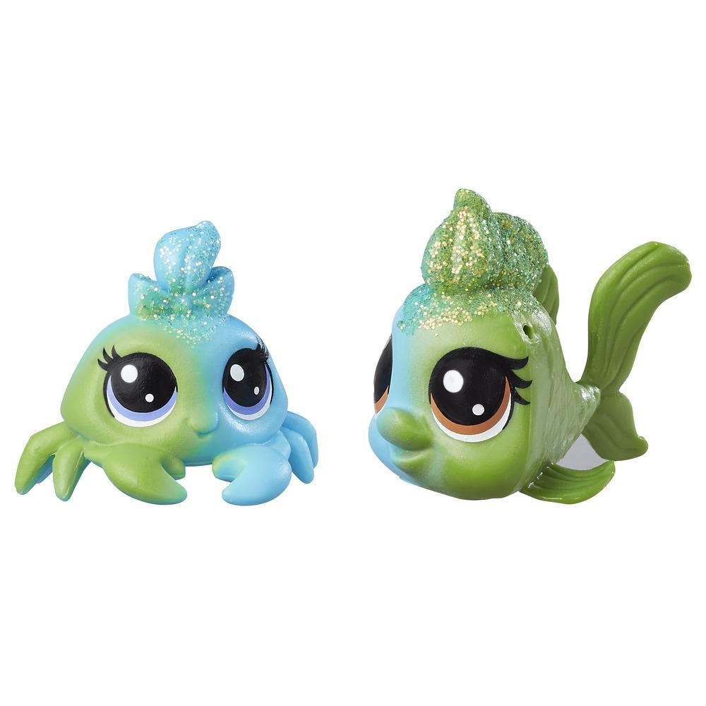 Littlest Pet Shop Seafoam Dazzleshell & Brillia Beryl