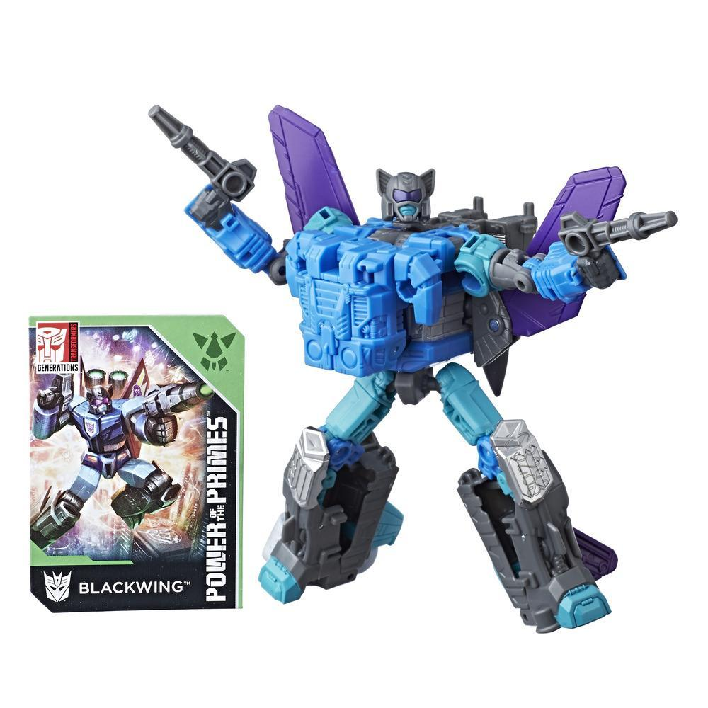 Transformers: Generations Power of the Primes - Blackwing classe deluxe