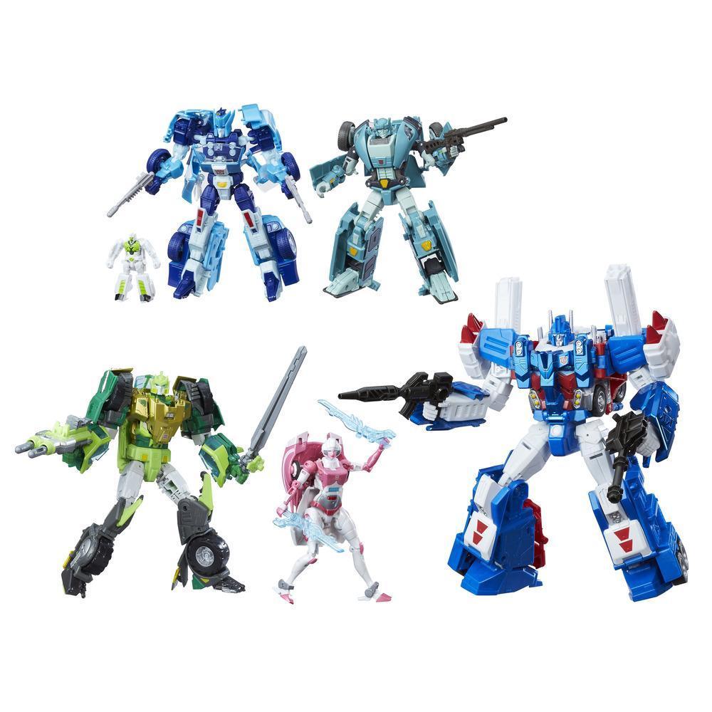 Transformers Generations - Edição Platinum Heróis Autobot