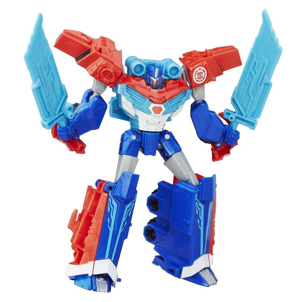 Classe Guerreiro Optimus Prime Explosão de Poder Transformers Robots in Disguise