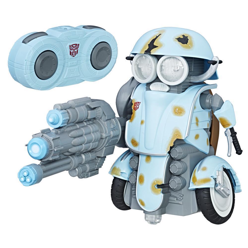 Transformers: O Último Cavaleiro -Autobot Sqweeks com controle remoto