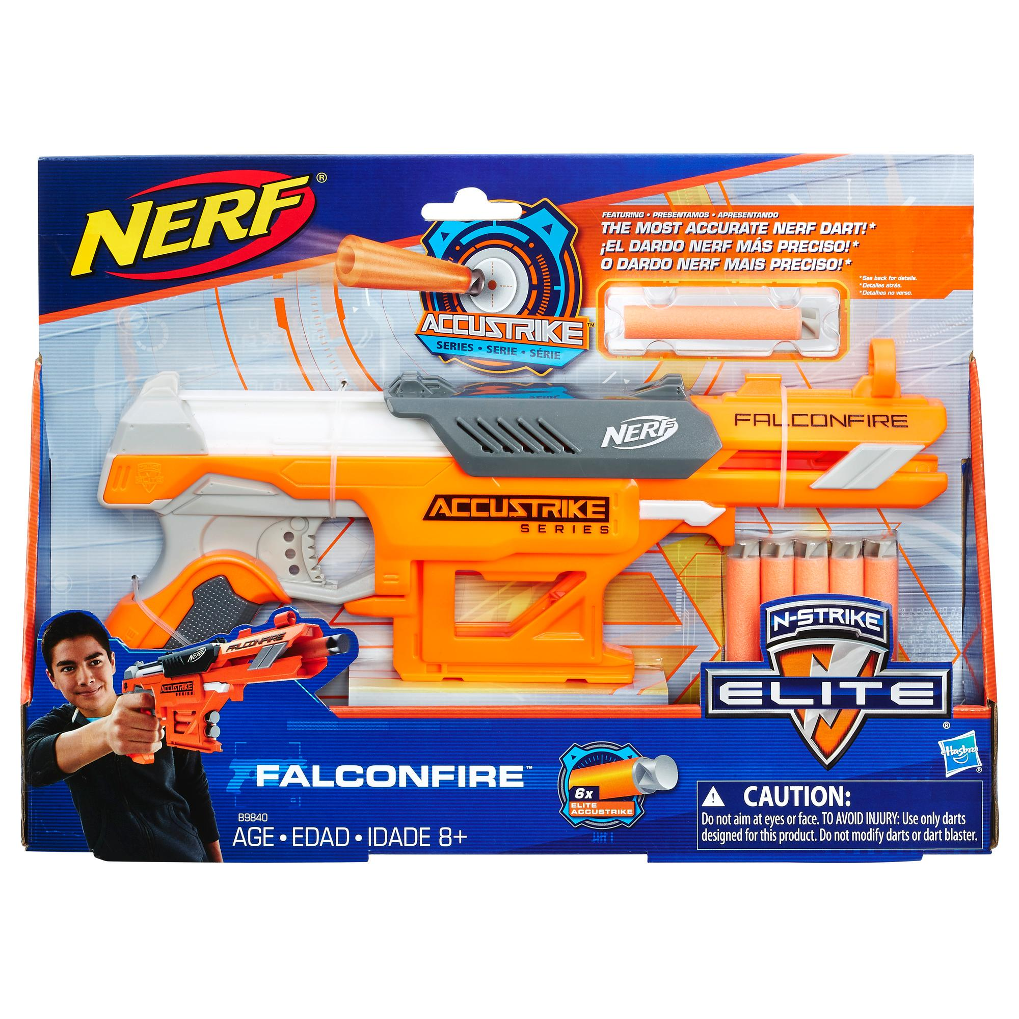 Lança Dardos Accustrike Nerf Falconfire
