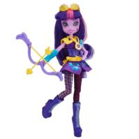 My Little Pony Equestria Girls - Boneca Twilight Sparkle estilo esportivo arco e flecha
