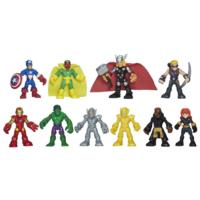 Brinquedo Conjunto Figura Marvel Com 10
