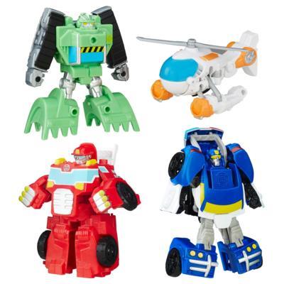 Transformers Bots de Resgate Trailer de Corrida Optimus Prime da Playskool Heroes