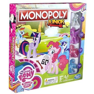 Monopoly Júnior - Edição My Little Pony: A Amizade é Mágica