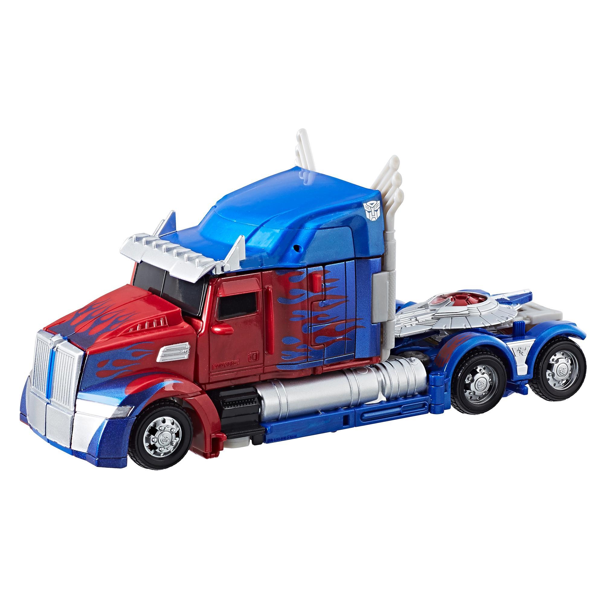Transformers: O Último Cavaleiro Premier Edition Classe Voyager - Optimus Prime Edição Convenção