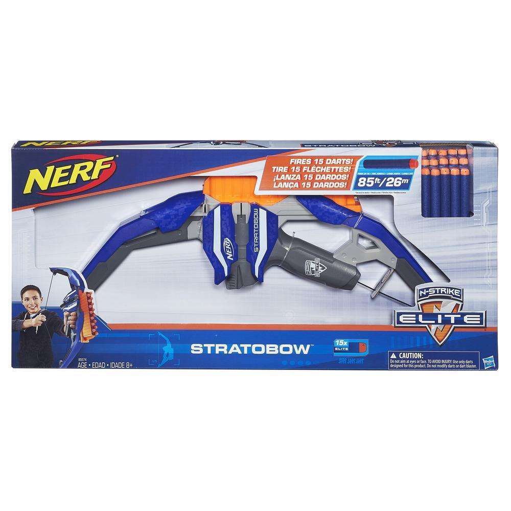 Brinq Lança Dardo Nerf Elite Stratobow