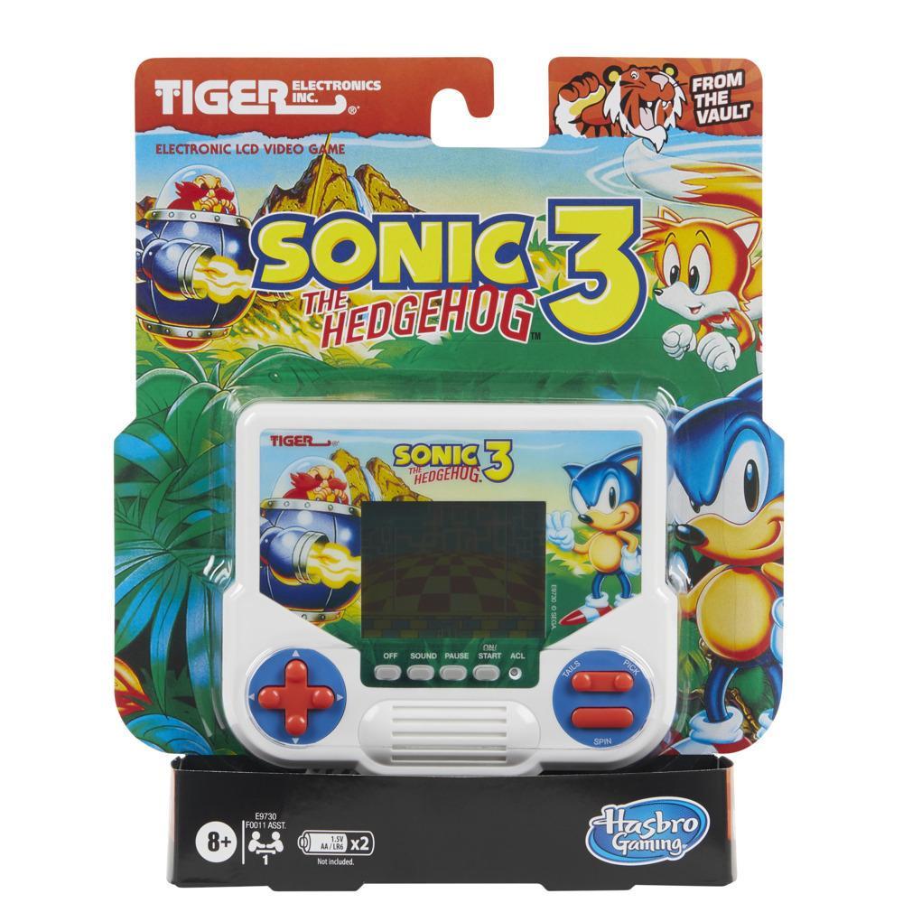 Tiger Electronics Disney Videogame LCD Sonic the Hedgehog 3 - Edição retrô