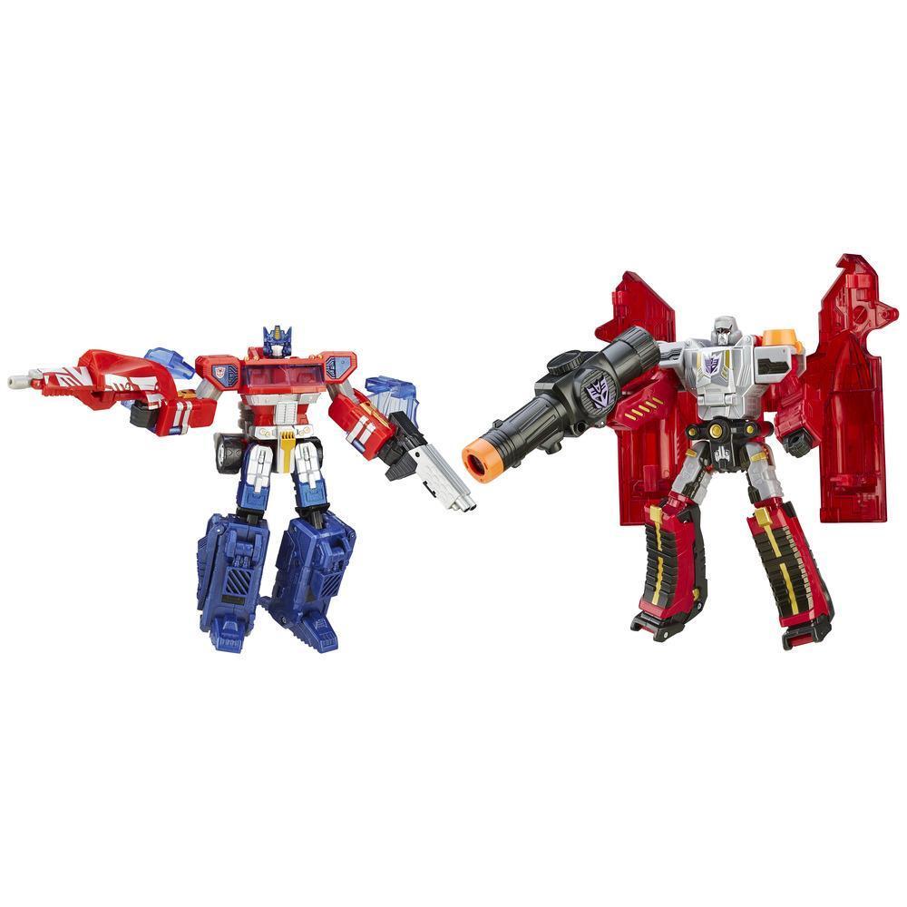 Figura Transformers Plat OP vs Megatron