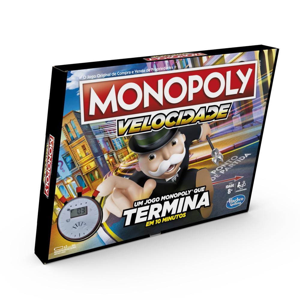 Jogo Monopoly Velocidade