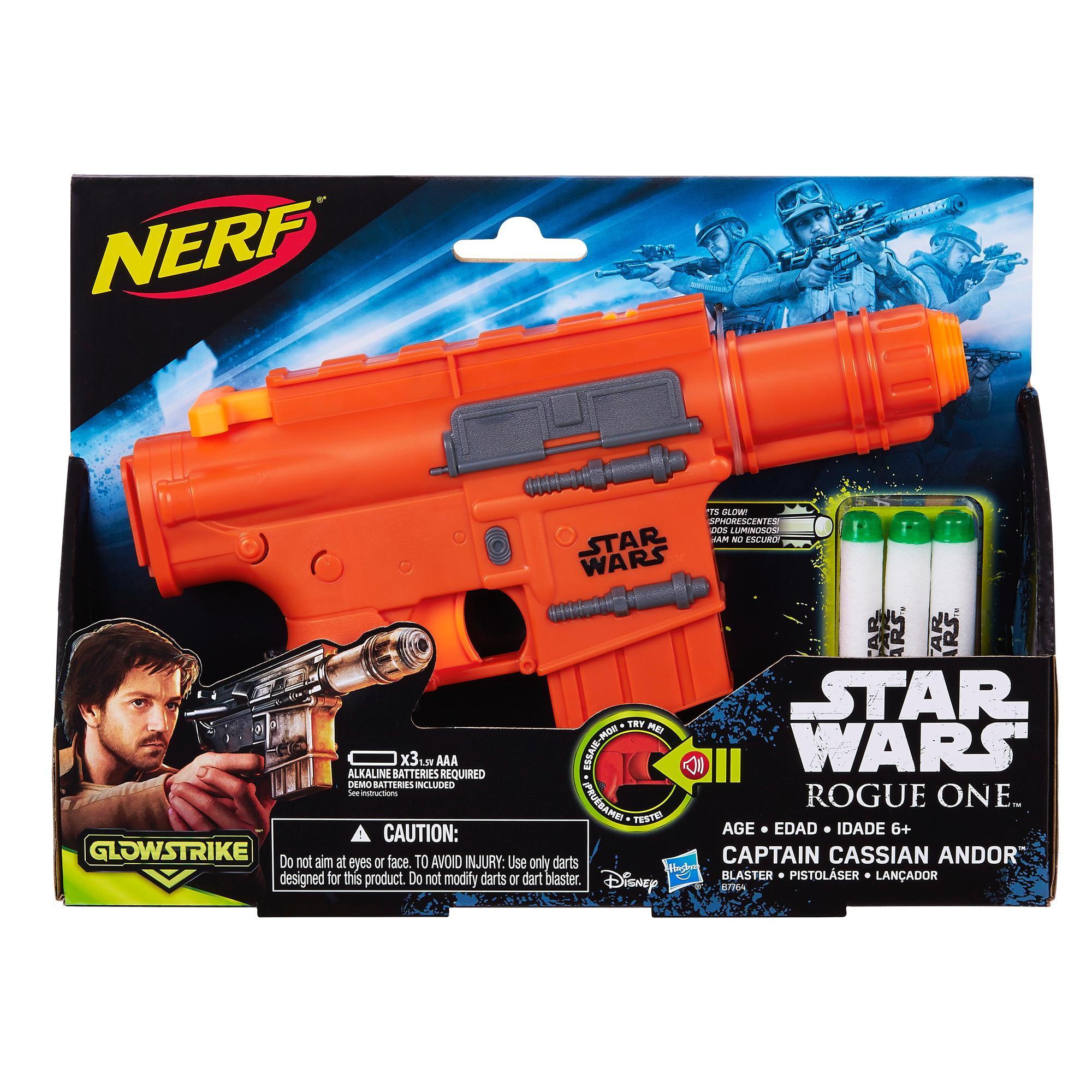Star Wars Rogue - Lançador Nerf capitão Cassian Andor