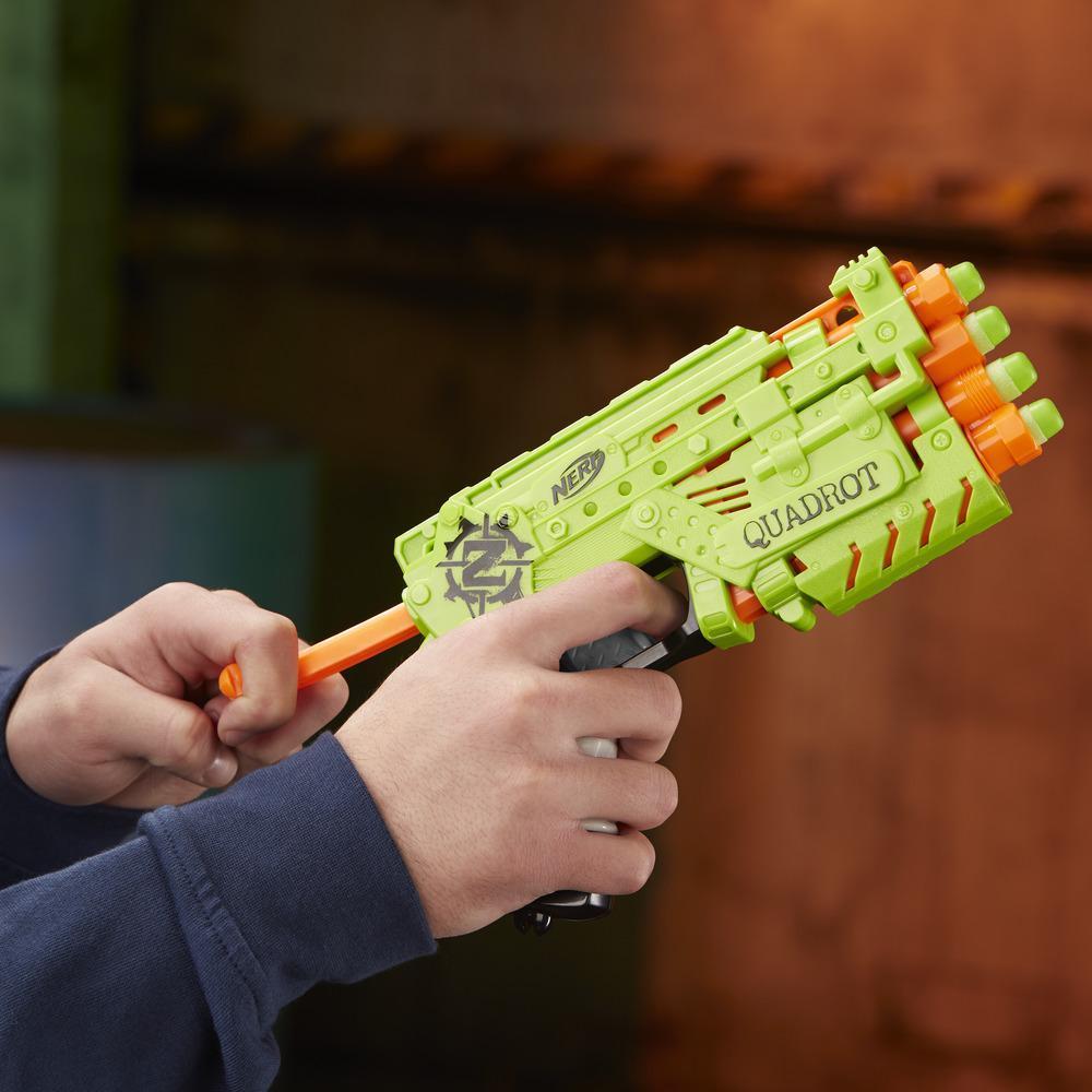 Nerf Zombie Strike - Quadrot