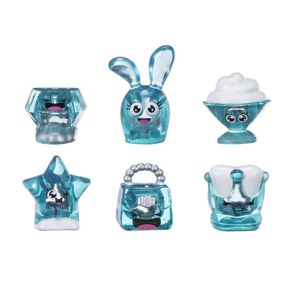 Hanazuki 6 Tesouros e Hemka Azul-escuro Glamoroso (Coleção 1)