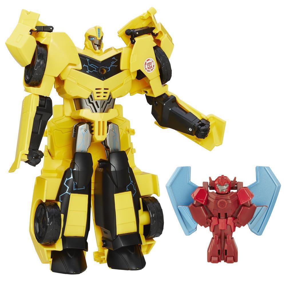 Bq Figura Transformers Power Heroes Bumblebee W Buzzstrke