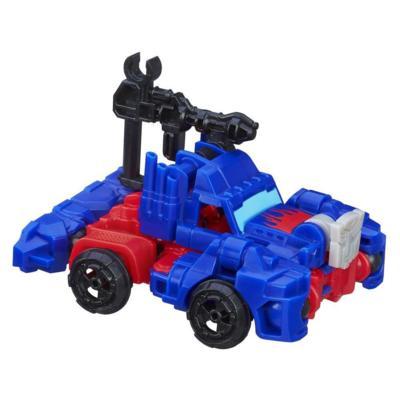 Boneco colecionável para montar Construct-Bots Dinobot Riders Optimus Prime