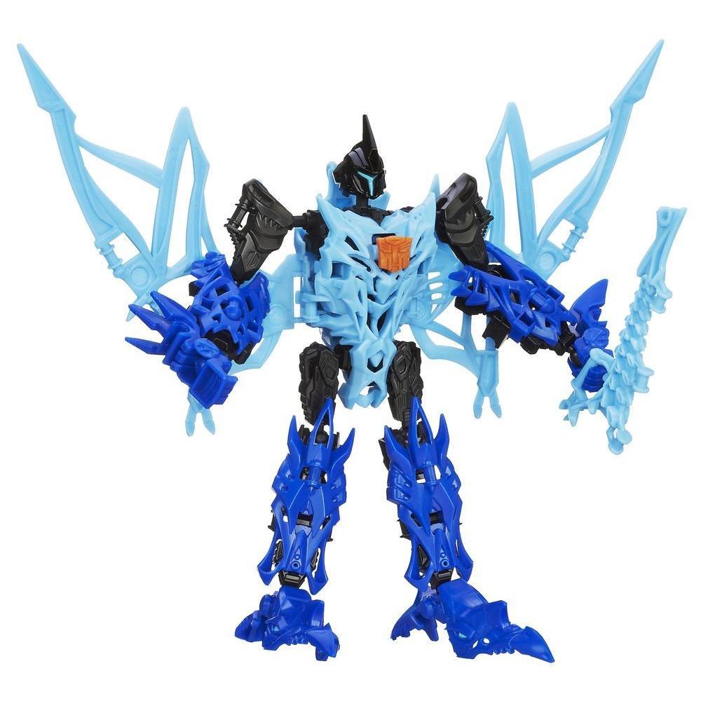 Boneco colecionável para montar Construct-Bots Dinobots Strafe - Coleção Transformers: A Era da Extinção