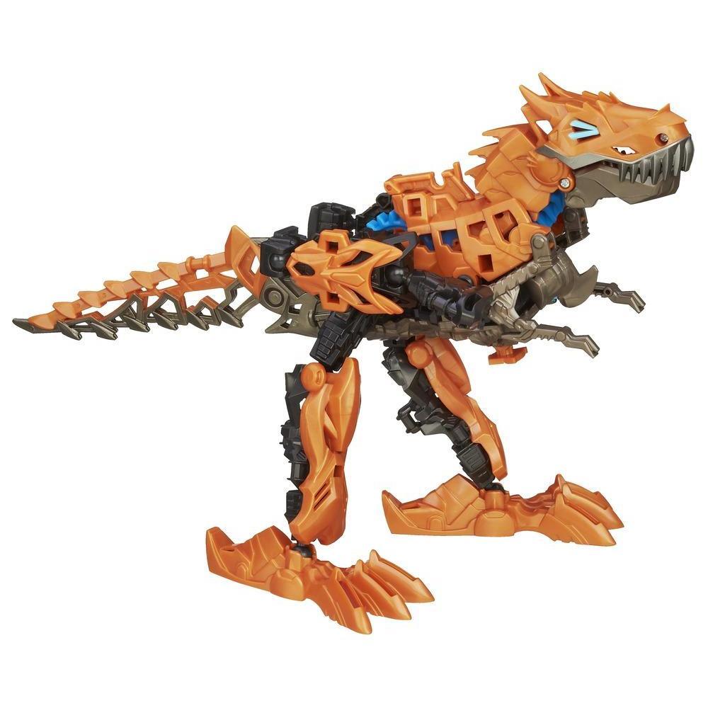 Boneco colecionável para montar Construct-Bots Dinobots Grimlock - Coleção Transformers: A Era da Extinção