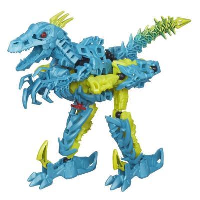 Boneco colecionável para montar Construct-Bots Dinobots Slash - Coleção Transformers: A Era da Extinção