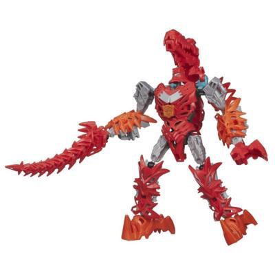 Boneco colecionável para montar Construct-Bots Dinobots Scorn - Coleção Transformers: A Era da Extinção
