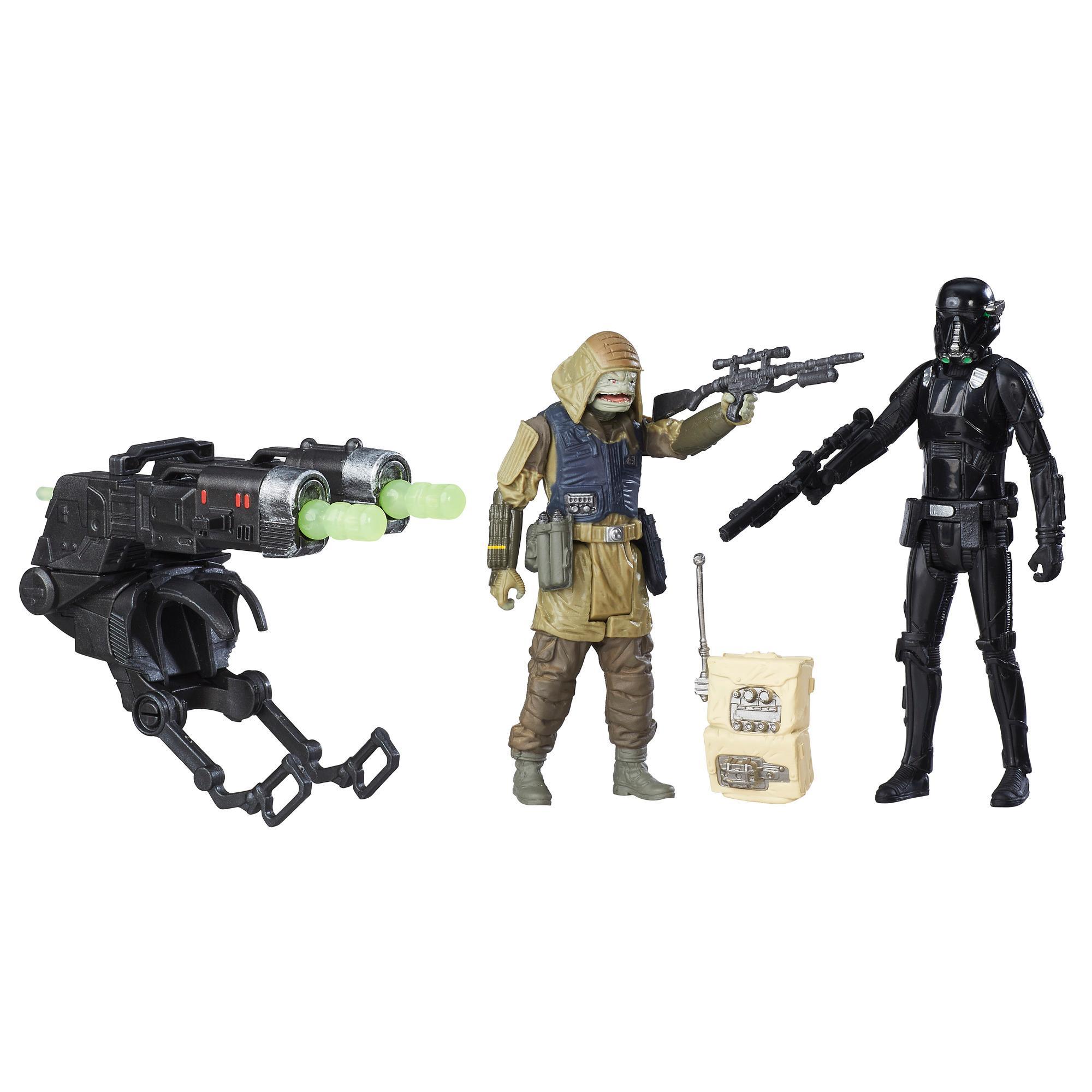 Star Wars Rogue One - Comando rebelde Pao e Death Trooper Imperial